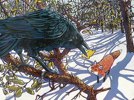 Raven and the Fox by Nadi Spencer