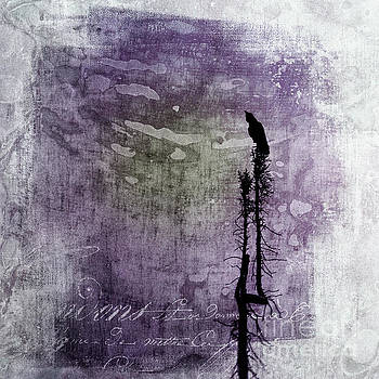 Raven call 3 by Priska Wettstein