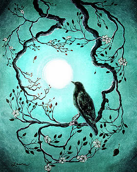 Laura Iverson - Raven in Teal