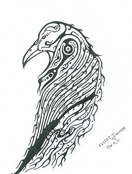 Raven Totem by Elliot Janvier