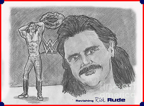 Ravishing Rick Rude by Chris  DelVecchio