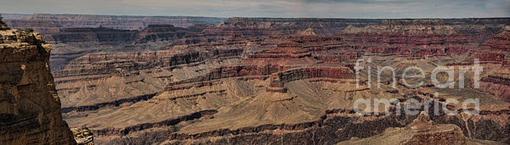 Chuck Kuhn - Raw Panorama Color Grand Canyon