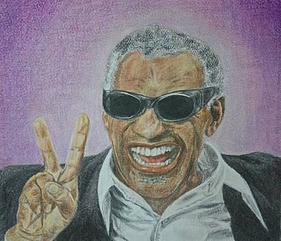 Ray Charles by Dixie Hester