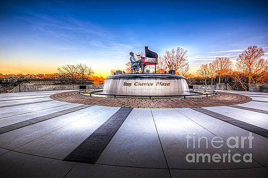 Ray Charles Plaza by Marvin Spates