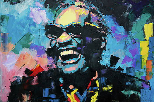 Ray Charles by Richard Day