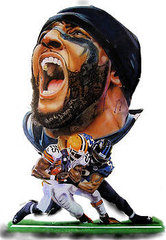 Ray Lewis by Dwayne Lester