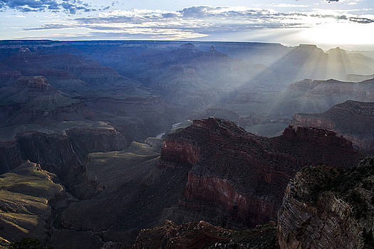 Ray on Grand Canyon by Atul Daimari