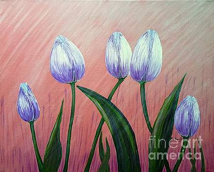 Barbara Griffin - Rays of Sunshine on Tulips