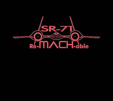 Re-MACH-able SR-71 by Ewan Tallentire