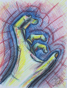 Reaching by Krysta Bernhardt