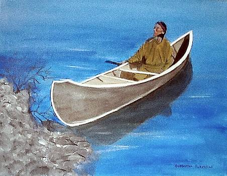 Reaching shore by Catherine Swerediuk