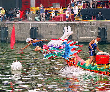 Reaching the Finishing Line in the Dragon Boat Races by Yali Shi
