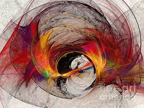 Reaction Abstract Art by Karin Kuhlmann