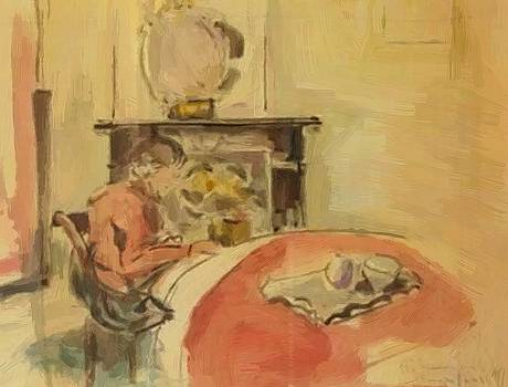Wouters Rik - Reading Girl 1915