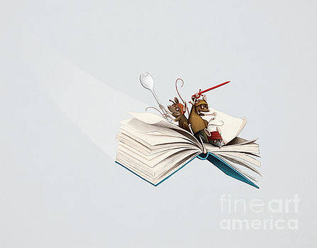 Reading is an Adventure by Michael Ciccotello