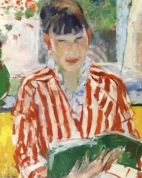 Wouters Rik - Reading Woman 1913
