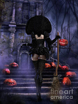 Ready Boys Halloween Witch by Shanina Conway