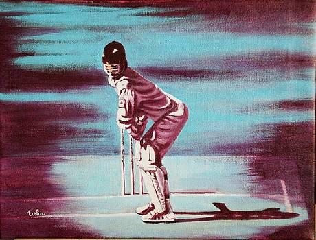Usha Shantharam - Ready to bat