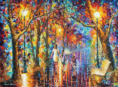 Real Dreams   by Leonid Afremov