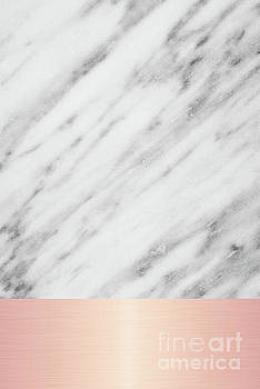 Real Italian Marble and Pink by Emanuela Carratoni