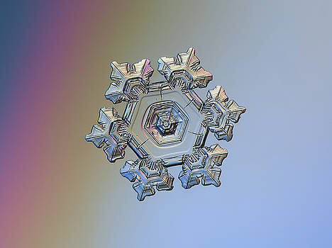 Real snowflake - 05-Feb-2018 - 10 by Alexey Kljatov