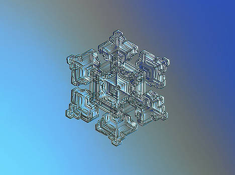 Real snowflake - 05-Feb-2018 - 5 by Alexey Kljatov