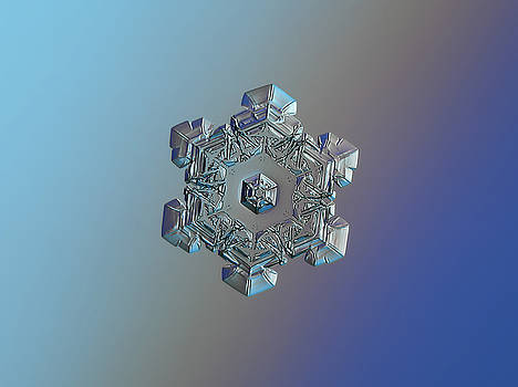 Real snowflake - 05-Feb-2018 - 6 by Alexey Kljatov
