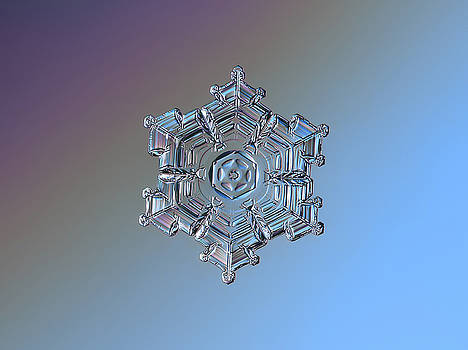 Real snowflake - 05-Feb-2018 - 7 by Alexey Kljatov