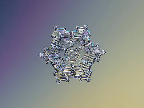 Real snowflake - 05-Feb-2018 - 7 alt by Alexey Kljatov