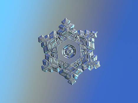 Real snowflake - 05-Feb-2018 - 9 by Alexey Kljatov