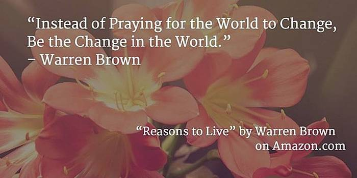 Reasons to Live by Warren Brown