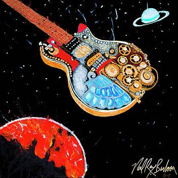 Rebel Guitar fighter by Neal Barbosa