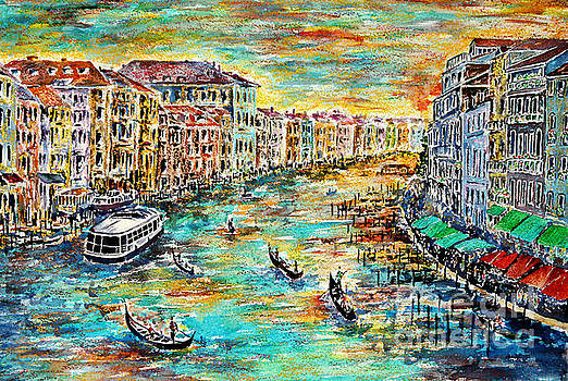 Recalling Venice by Alfred Motzer