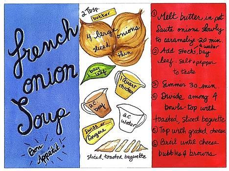 Recipe French Onion Soup by Diane Fujimoto