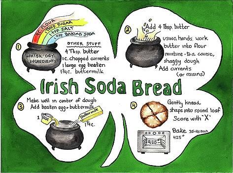 Recipe - Irish Soda Bread by Diane Fujimoto