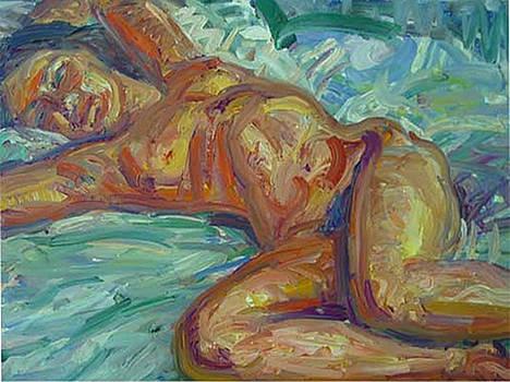 Reclining Nude 2 by Robert Herlitz