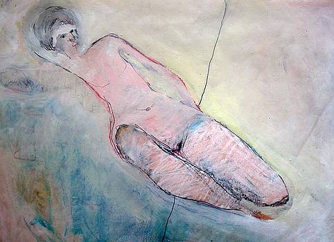 Reclining Nude by Brooke Wandall