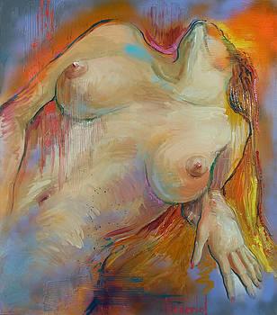 Reclining Nude by Rick Nederlof