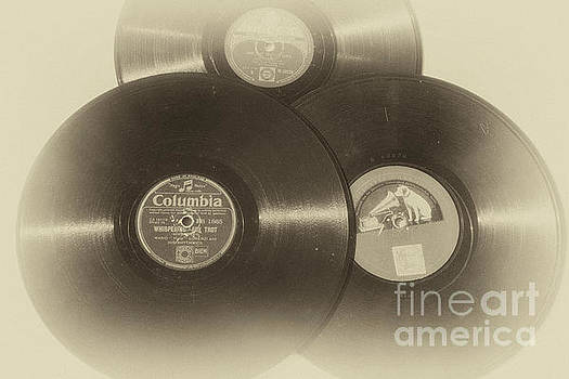Records of the 1940's and fifties by Patricia Hofmeester