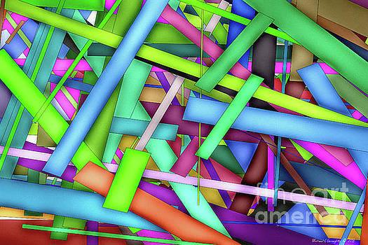 Rectangle Matrix 25 - AMCG20180315 40 x 27 by Michael Geraghty