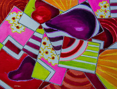 Abstract Rectangles by Vickie Myers