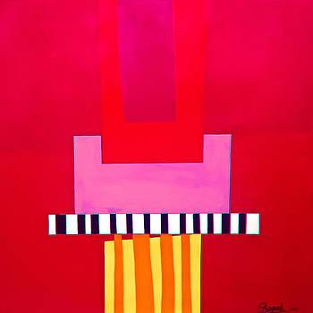 Red 3 by Elizabeth  Bogard