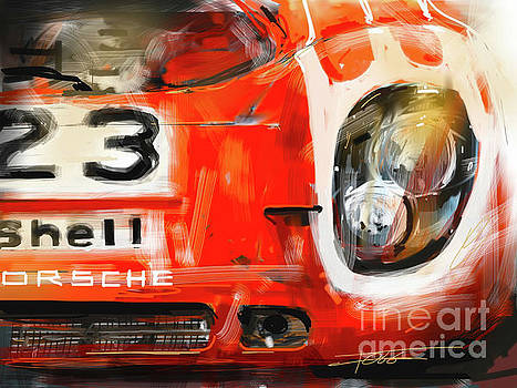 Red 917 by Peter Fogg
