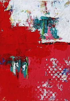 Red Abstract 2 by Brooke Baxter Howie