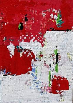Red Abstract 3 by Brooke Baxter Howie