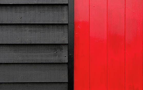 Red and black simple wooden surface by Michalakis Ppalis