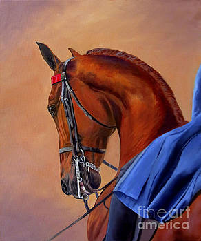 Red and Blue by Jeanne Newton Schoborg