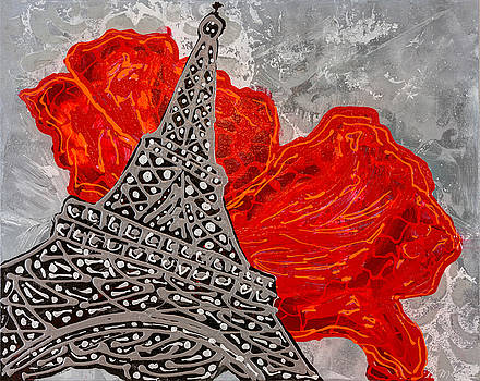 Red And Grey by Sheila McPhee