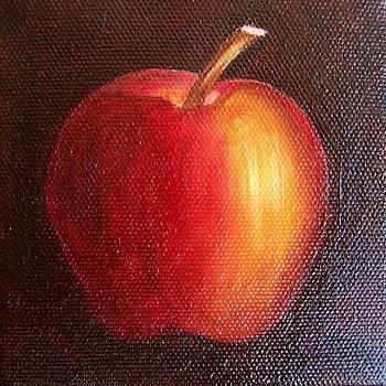 Red Apple 9 by Susan Dehlinger