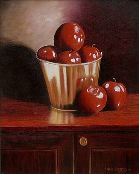 Red apple days by Gene Gregory